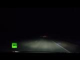 Видео падения метеорита в Хакасии