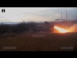 ВСУ стреляют Градами по Горловке со словами пока, сепаратисты су.и! (АРХИВ)