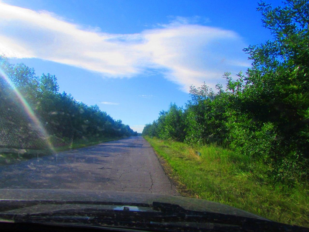 Остальные 5 км до села