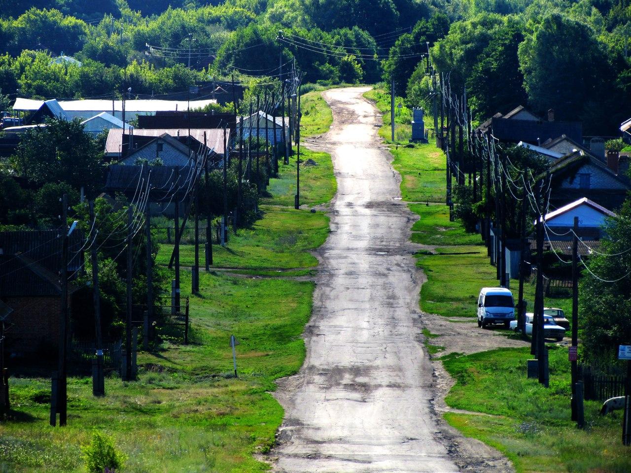 Дорога в село