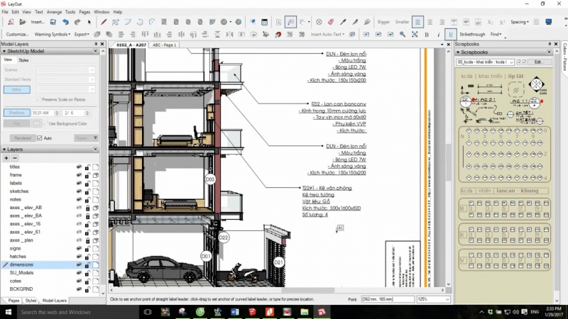 VBO Solutions SketchUp LayOut Showreel