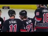 НХЛ 2016/2017 Регулярный чемпионат. Каролина Харрикейнз - Нью-Йорк Айлендерс 7:4. Обзор матча.