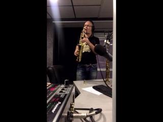 Саксофонист Syntheticsax в прямом эфире радио  Megapolis 89,9 FM MSK