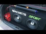 Machete sport 2x12