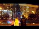 Цветные фонтаны в Красноярске