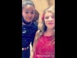 Оливия Musical.ly с Алексой Кертис на Евровидении 2016 в Мальте