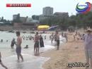 Рейд сотрудников МЧС на пляже г Махачкала