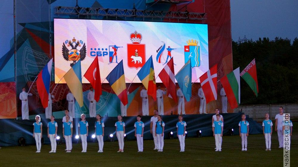 открытие чемпионата мира по биатлону, Чайковский, 2017 год