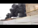 В Петербурге крупный пожар на лакокрасочном заводе