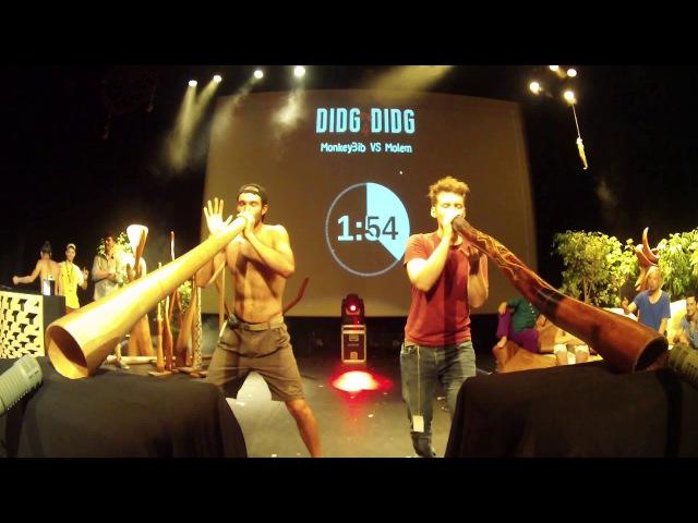 Didg To Didg 4 - Battles DUO - MonkeyBib VS Molem