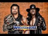 Roman Reigns vs The Undertaker Wrestlemania I Promo