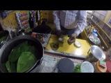How to make Indian Pan  Как делают Пан   Индия    GoPro
