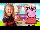 Свинка Пеппа на русском все серии подряд от Дианы Свинка Пеппа 3 эпизода Сборник видео без остановки