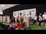 CrossFit Games 2017 Athlete check in