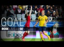 WNT vs. Sweden Rose Lavelle Goal - June 8, 2017