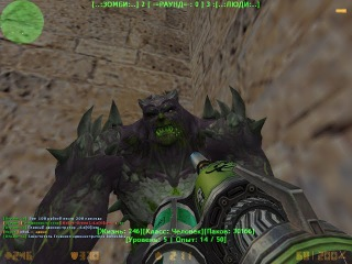 Counter-Strike 1.6:Зомби сервер Универсальная зомби арена #363 cерия [АДМИН]