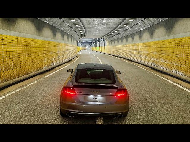Gran Turismo Sport - Tokyo Expressway Gameplay   Audi TT Coupé '14 @ 4K (60ᶠᵖˢ) ✔