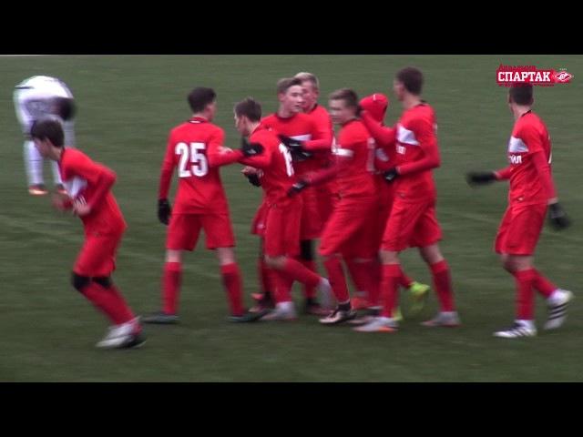 Спартак (2001 г. р.) - Динамо 2:0