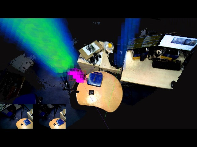 ElasticFusion: Real-time Light Source Detection