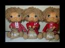 Текстильная кукла. Домовенок Кузя Часть1