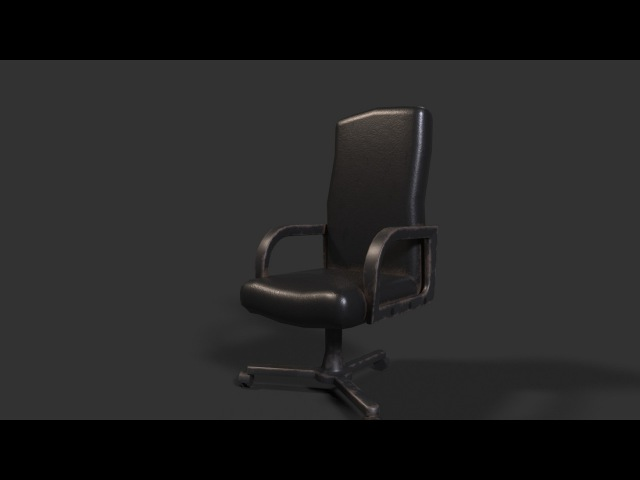 Modeling Texturing chair 3ds max - Substance painter tutorial part - 1