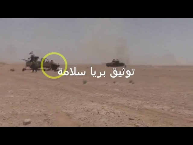 Гибель с-нта Тимошенко Андрея 16.06.2016 Syria Russian soldier vs ISIS car bomb.Everybody run away but russian soldier stayed to th