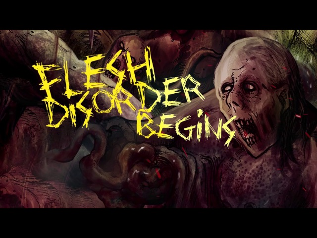 BLEEDING SPAWN - FETAL FECES SPLATTER [OFFICIAL LYRIC VIDEO] (2017) SW EXCLUSIVE
