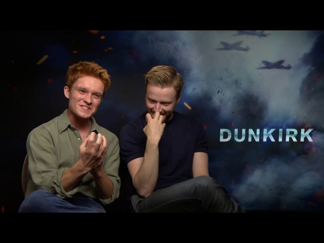 Jack Lowden and Tom Glynn-Carney on Bonding With The Cast. Dunkirk Exclusive Interviews