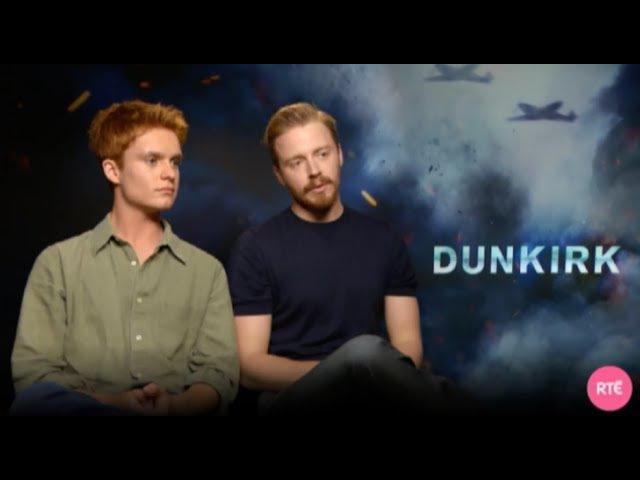 Jack Lowden Tom Glynn Carney — Dunkirk — Interview for RTE