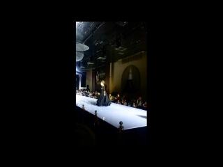 Estet fashion week. Настя - модель агентства Краса. Смоленск, ноябрь 2016.