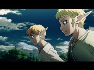 Drifters 1 серия русская озвучка Zunder & Arihara / Скитальцы 01 эпизод Risens Team