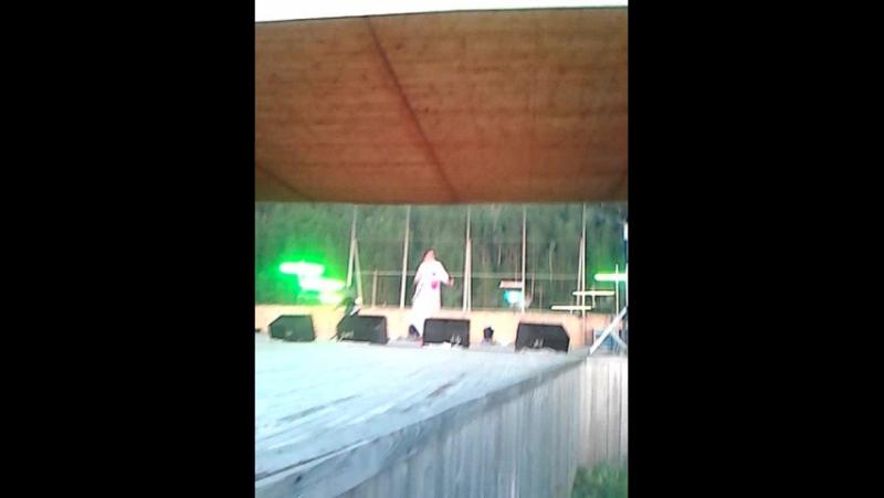 концерт Радика Юльякшина в Малоязе.