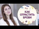 Как отрастить брови советы от ТОП-бровиста Шпильки Женский журнал