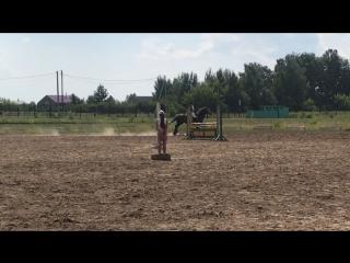 Афанасьева Карина и Геральдика 105 см
