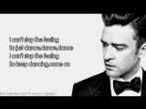 Justin Timberlake - Cant Stop The Feeling (Lyrics)
