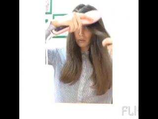 Расческа - выпрямитель Fast Hair Straightener