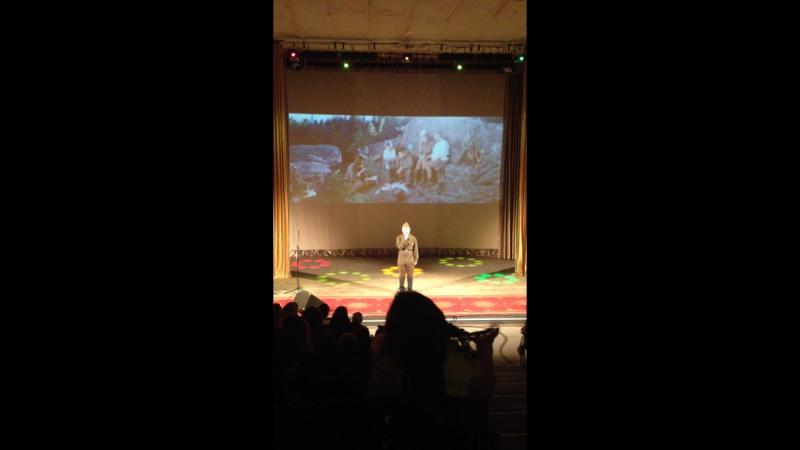 Александр Грачев дипломант 1 степени III открытого городского конкурса Кино и песня шагают вместе