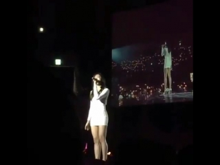 161217 Apink 3rd Concert Pink Party - Eunji singing 'All By Myself