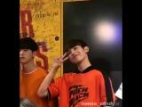 20170626 Ивент в Tower Records Umeda NU Chayamachi - Фото-тайм (Kangmin focus)