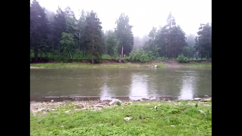 Река Нугуш в районе Галиакберово.