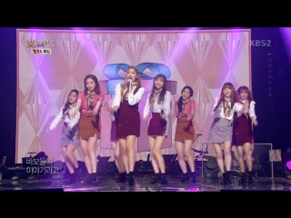 [160924] Lovelyz - Love Love Who Said It + Youth Who Eats Dreams @ KBS Immortal Song