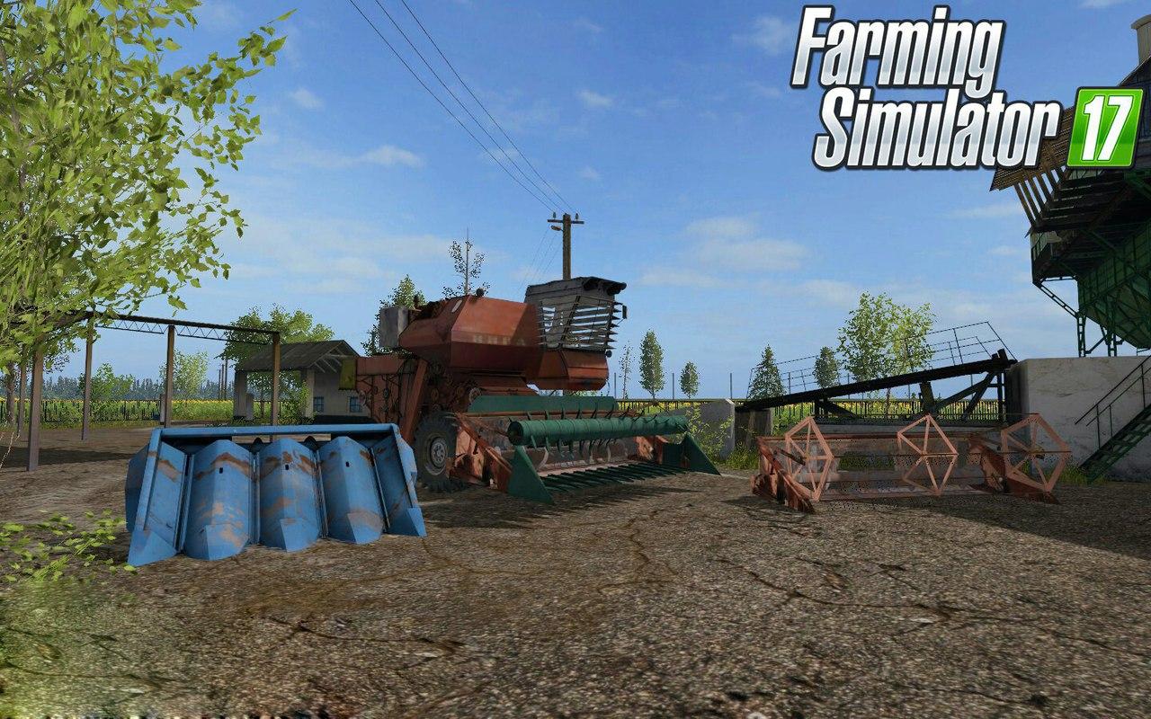 Советская зерноуборочн...
