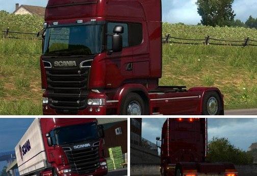 Модификации для Scania R & Streamline v2.2