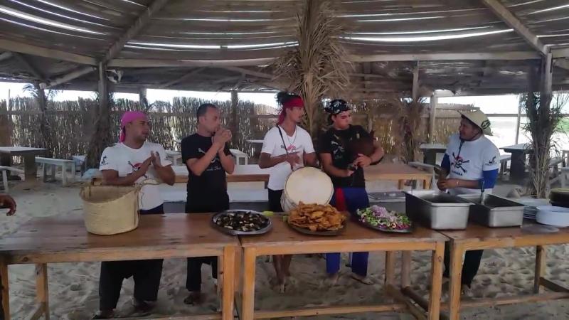 пиратский обед на острове фламинго😊