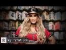 WWE QTV ☆ My First Job Where did Carmella work before she became fabulous؟