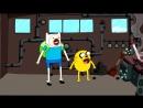 10 серия - 1 часть - 2 сезона мультсериала — «Время приключений» - Таинственный поезд - в озвучке от телеканала Cartoon Network