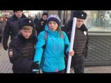 Задержание на антикоррупционной акции в Москве