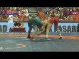 75 кг, Qualification: Alena STARODUBTSEVA (RUS) vs. Daria Urszula OSOCKA (POL) ЧЕ 2017