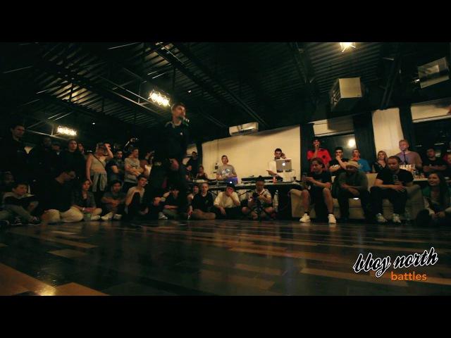 Gimnast vs D Matt | SKILLZ-O-METER 7 | BBOY NORTH