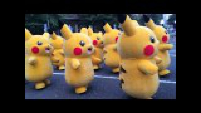 踊る? ピカチュウ大発生チュウ!part.2 Pokémon Pikachu Dance Parade (Yokohama, Japan) 2015,8,1